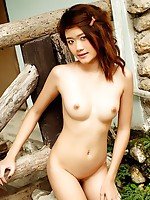 Pretty Teen Kumja Moon Cabin Strip
