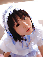 Cute little gravure idol hottie in an adorable bo peep costume