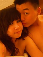 Amateur Chinese couple satisfying their bukake fantasies