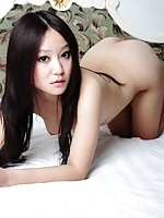 China girl taking naked pictures of herself in motel