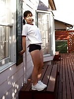 Asian in Shorts