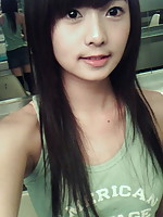 Innocent looking Asian girls but horny inside