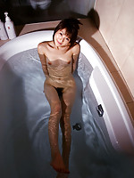 Nude Asian in Bath
