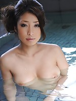Asian in Pool