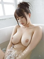 Japanese Teen in Bath