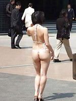 Humiliated asian public nudity and sex