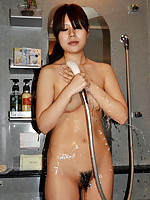 Shy Japanese MILF eagerly received cock in pussy