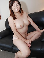 Japan MILF with juicy tits gets fucked