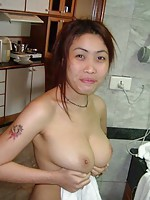 Boyfriend submits pics of his perfect tit Thai girlfriend