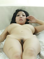 Cute Chinese girl with nice big boobies