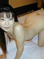 Japanese girl with snowy white skin