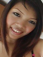 Slender Thai model with great smile sucks and fucks