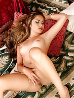 Michelle Maylene nude on rug