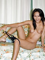 Thai Rowena spreading her shaved cookie