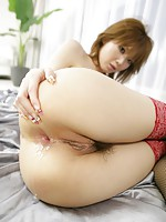 Hard DP for nasty Japanese sweetheart Rika Sakurai