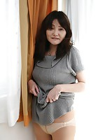 Japanese MILF Michiko Sudo plays around the bathroom before having some het sex.