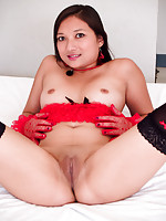 Tiny boob Thai girl Dirty Pancake has a big sexy ass