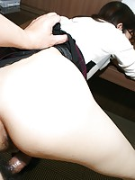 Mature Japanese babe Nobuko Torii soon sheds her shyness as sex toys and cock give her pussy pleasures.