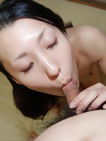 Teen Japanese babe Yui Nakazato spreads her legs wide open for hard fucking.