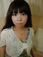 Japanese teen Naomi Ide gets her pussy warmth by her man