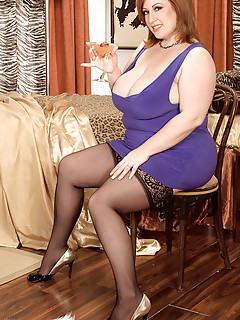 Bbw High Heels And Stockings
