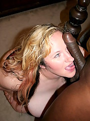 Sexy Seana Rae gets some black dick in her wet juicy cunt.