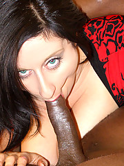 Busty black hair beauty gets her pussy pounded by black cock