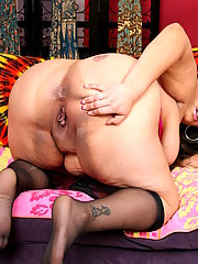 Latina mamacita is craving some disguisting throbbing fat cock inside her wet pussy