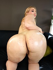There isn't anything 'shy' about Shyla; this blond BBW loves sex. And she loves it even more when it comes from the cock of a black guy.