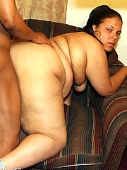 Big Booty Black BBW Taking Giant Cock
