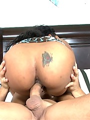 Super hot fucking big ass babe gets slapped with a hard cock in her face then gets power fucked in her deep black box check out these hot pics