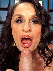 Rita Cums Back For More!