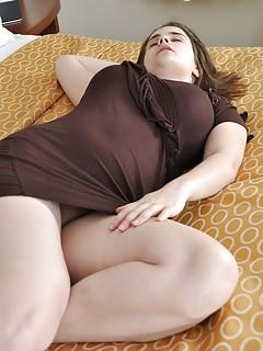 Big tits upskirt