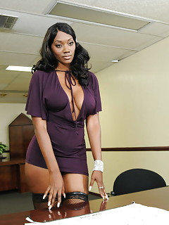 Free Ebony Stockings Galleries