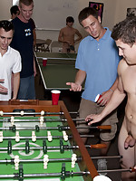 Game room sex for these college boys