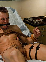 Phenix Saint gets tied up and abused in the psycho ward.