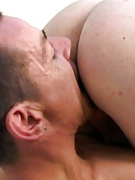 Young masseur shags older client