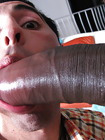Evil huge cock destroying a tight homo