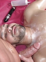 Dumb guy gets violated by the gay masseur