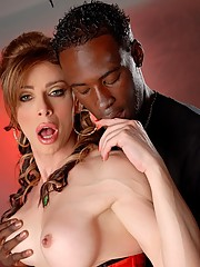 Super hot tranny Jasmine Jewels banged by huge black cock