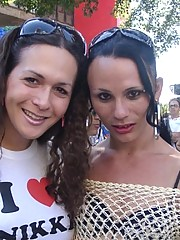 Nikki at tha gayparade !