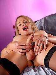 Busty Julia Reeds Shows Her Lucious Cock