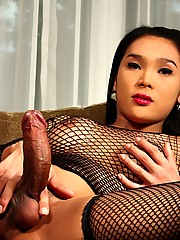 Super Sweet Fanta Showing Her Awesomely Big Cock
