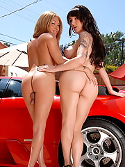 Horny Danielle having fun with Mia Isabella