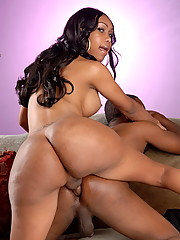 Sexxxy Jade banging her fresh ebony meat