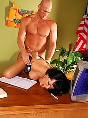 Secretary Foxxy Gets Treated By Her Boss