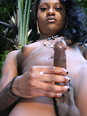 Tall slim black tgirl beauty!