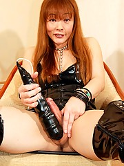 Japanese shemale Tsugumi is a true freak.  She is a sex addict and loves really hardcore sex - just watch and see what she does to get erect.  Nothing is too much for Tsugumi who comes from Osaka.