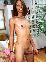 Sydney is a slender NYC tranny with legs for days! She\
