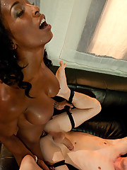 Black Ts Natassia Dream ass fucks well hung straight white freshman.